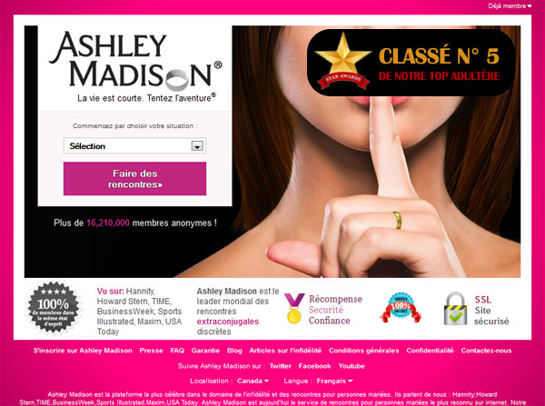 Tarif, Plaintes, Arnaques sur Ashley Madison