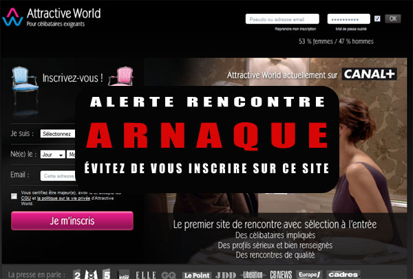 Tarif, Plaintes, Arnaques sur Attractive World